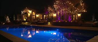 Fx Landscape Lighting Luxor Zdc Transforms The Outdoor Living Space For A California