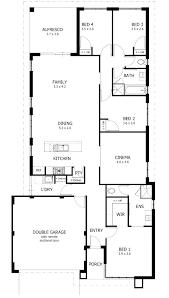 new house blueprints 4 bedroom house blueprints low cost 4 bedroom house plans unique