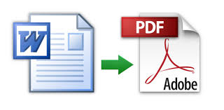Word To Pdf How To Convert A Microsoft Word Document To Pdf Format