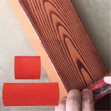 how to paint wood grain cabinets zqasales 2pcs diy wood graining rubber graining painting tool for wall desktops cabinets doors decoration wall texture painting tool set