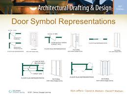 symbol for window in floor plan chapter 16 floor plan symbols ppt video online download
