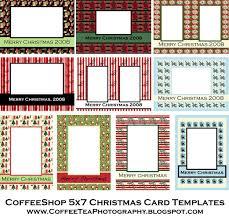5x7 christmas card templates christmas lights decoration