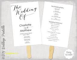 modern wedding programs new modern wedding program templates free templatefree template