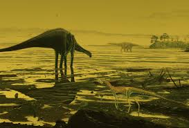 huge trove of dinosaur footprints discovered in scotland