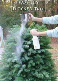 Christmas Tree Flocking Spray Can