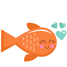 fish valentines fish svg scrapbook cut file clipart files for