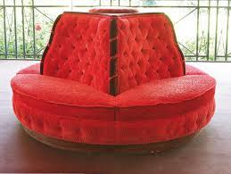 canapé napoléon 3 grand canapé borne en velours capitonné angles à côtes torses style