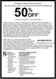 home depot coupon black the home depot canada garden club coupons buy any organic potting