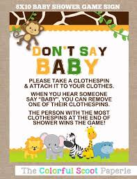 clothespin baby shower baby safari baby shower designs agency