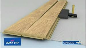 Underlayment For Laminate Flooring Installation Onflooring Quick Step Uniclic Laminate Flooring Floating Floor