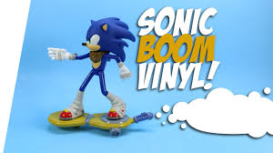 sonic boom large articulated vinyl figures knuckles and dr eggman