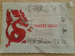 zodiac placemat stationery catalog