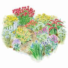 garden plans by color