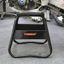 motocross bike stands black alloy aluminium box paddock stand motocross mx trials enduro