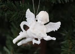 white cherub ornament 24 pcs ornaments
