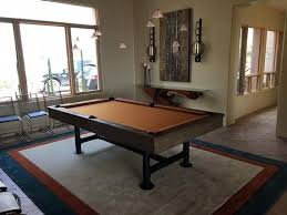 high end pool tables quality high end industrial style bedford pool table with dining top