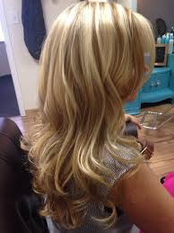 The Powder Room Salon - this lovely lady has the most beautiful hair root color