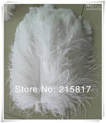 Wedding Feathers Centerpieces by 8 10 Wholesale White Ostrich Feathers Centerpieces For Weddings