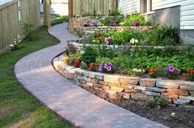 rustic garden ideas for decorative elements home dezign