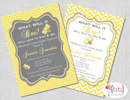 what will it bee baby shower what will it bee baby shower invitations sempak 7f77cca5e502