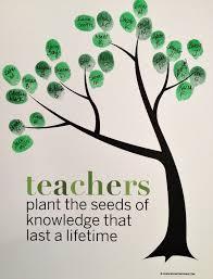 Teacher Appreciation Memes - classroom fingerprint tree perfect classroom gift for teacher