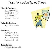 Reflections And Rotations Worksheet Bhms Proving It 8th Grade Rotation And Translations