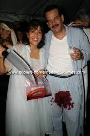 Funny Halloween Couple Costume Ideas My Home Made Chicken Halloween Costume And Homemade Kfc Apron