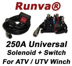 atv winch solenoid ebay
