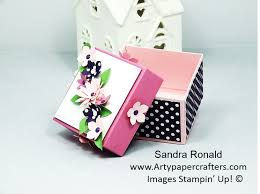 floral gift box how to make a gift box arty paper crafters