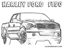 unique comics animation finest truck coloring pages