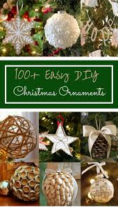 Easy Homemade Christmas Ornaments by 100 Easy Diy Christmas Ornaments Prudent Penny Pincher