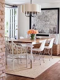 Dining Room Modern How To Pick A Rug For Your Dining Room