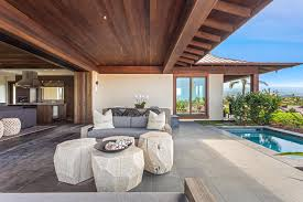 covered lanai new kohanaiki home defines casual elegance hawaii real estate