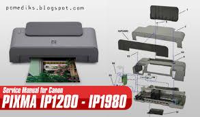 reset tool for ip1880 manual service printer canon teknik service