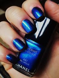 tiffanyd new nails chanel bel argus the new classic blue