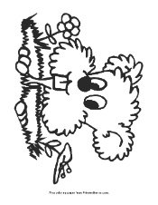 groundhog coloring pages primarygames play free games