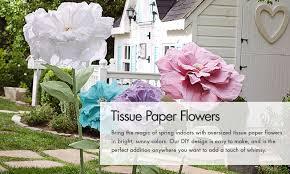 pottery barn kids flower table tissue paper flowers pottery barn kids
