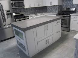 White Backsplash For Kitchen by Kitchen Grey Kitchen Walls With Wood Cabinets Grey And White