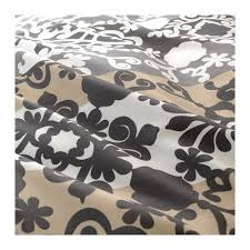 prakttry duvet cover and pillowcase s gray white beige full