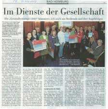 Maria Ward Schule Bad Homburg Hospiz Dienst Bad Homburg