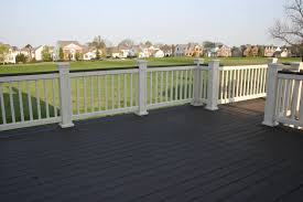 great two tone deck over looking the golf course some of our