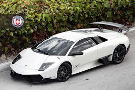 Lamborghini Murcielago 2014 - stunning matte white lamborghini murcielago sv on hre wheels