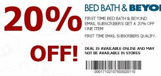 Bed Bath Beyond In Store Coupon Bed Bath And Beyond 20 Off Online Coupon Code 2014 Bangdodo