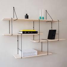 designer shelves the link shelf offers an update on a classic modular shelving system