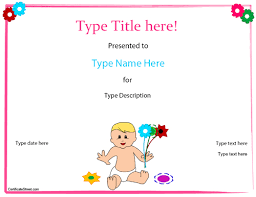 Birth Certificate Letter Sle Special Certificate Baby Birth Certificate Template