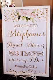 bridal shower signs my bridal shower