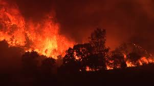 Wildfire Yukon by Wind Humidity And The California Fires