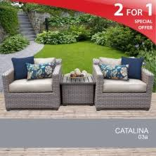 Grey Wicker Patio Furniture by Catalina Outdoor Furniture Grey Wicker Furniture