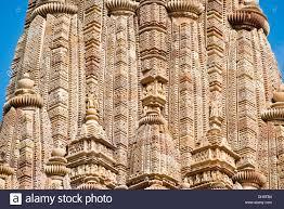 ornaments on the shikhara tower kandariya mahadeva temple