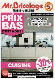 monsieur bricolage cuisine catalogue mr bricolage cuisine